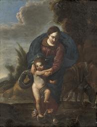 The Madonna and Child vanquish
