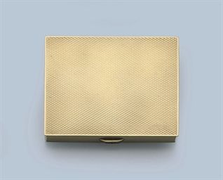 A GOLD BOX, BY HERMÉS