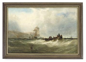 EDWIN HAYES, R.H.A.  (BRITISH,