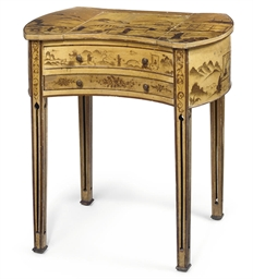 A FRENCH CHINOISERIE AND POLYC