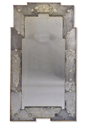 A FRENCH ART DECO MIRROR