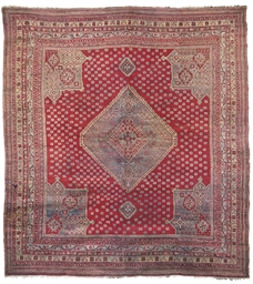AN USHAK CARPET, TURKEY