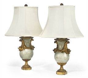 A PAIR OF NAPOLEON III GILT-BR