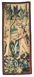 A MYTHOLOGICAL TAPESTRY FRAGME