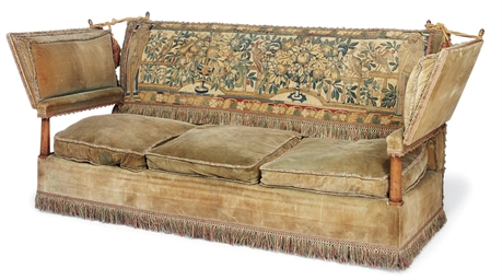 AN ENGLISH 'KNOLE' SOFA