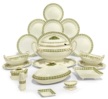 A WEDGWOOD QUEEN'S WARE PART DINNER-SERVICE
