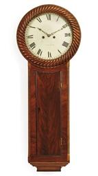 A William IV mahogany striking