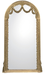 A GILTWOOD AND COMPOSITION OVE