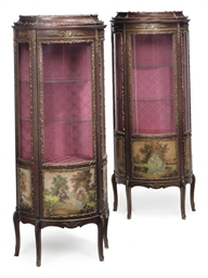 A PAIR OF SPANISH GILT METAL M