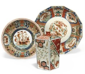 A JAPANESE IMARI GROUP OF BOWL