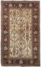 An antique Agra rug & Kula rug