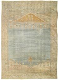 An antique Sultanabad prayer c