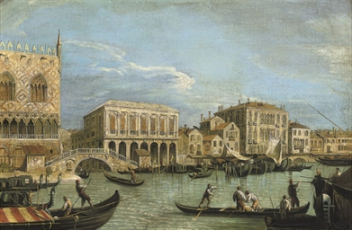 The Grand Canal, Venice; and T