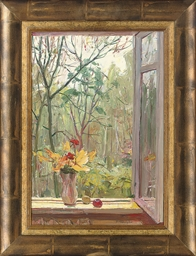 Still life on a window sill