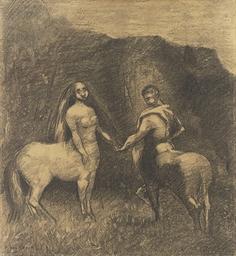 Centaure et Centauresse