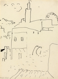 Rue de Tanger, deux passants