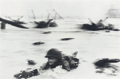 Omaha Beach, D-Day, 6 June 194