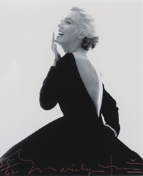 Marilyn Monroe in a Black Dres