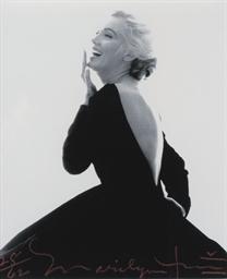 Marilyn Monroe in a Black Dres