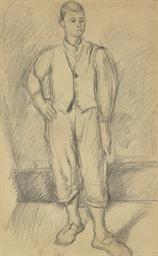Portrait du fils de l'artiste