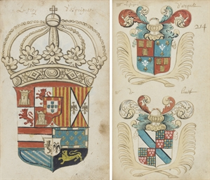 HERALDIC TREATISE AND ARMORIAL