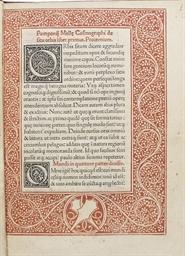 MELA, Pomponius (fl. 43-50). C