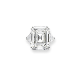 A MAGNIFICENT DIAMOND RING