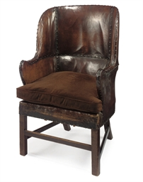 A VICTORIAN MAHOGANY AND BROWN