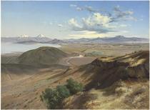 Valle de México desde el cerro de Santa Isabel (Valley of Mexico from the Hill of Saint Isabel)