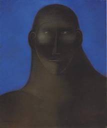 Figura en azul