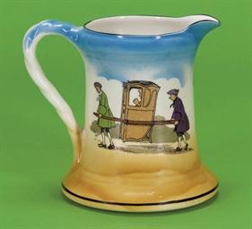 A Burleigh ware jug