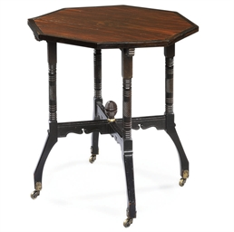 AN AESTHETIC MOVEMENT OCTAGONA
