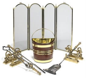 A SET OF THREE VICTORIAN GILT-