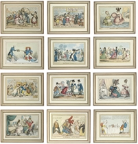 A Collection of Caricatures and Satirical Prints