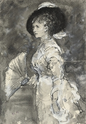 Study for a portrait of Mrs. H