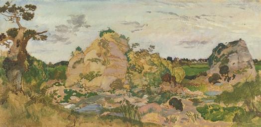 Landscape near Roquebrune, Pro