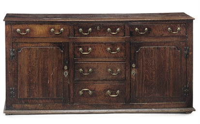 A WELSH OAK DRESSER