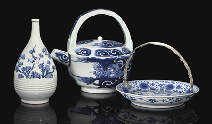 A Group of Imari Pieces, 18th