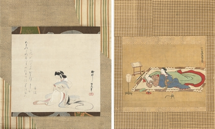 Kuwagata Keisai (1764-1824), e
