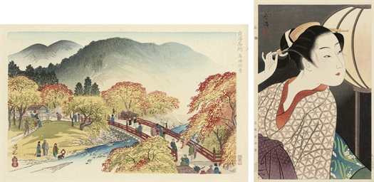 Twenty-six Shin Hanga prints,