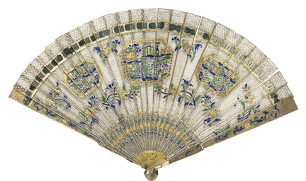 A FILIGREE FAN