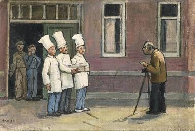 Drie koks - Three cooks