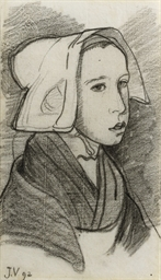 Jeune Bretonne - Young girl fr