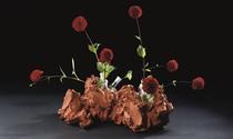 Vaasbeeld Teckel I/Vase sculpture Dachshund I