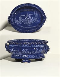 A LONDON DELFT BLEU PERSAN GAD