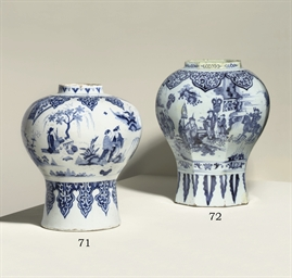 A DUTCH DELFT BLUE AND WHITE I