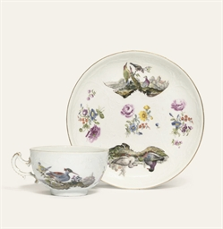SIX MEISSEN ORNITHOLOGICAL TEA