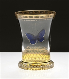 A VIENNA TRANSPARENT-ENAMELLED