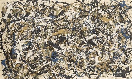 Not Pollock (Study for Number