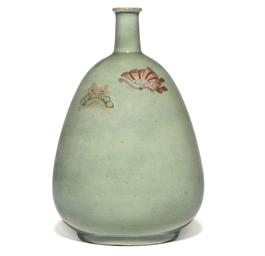 An Arita Sake bottle